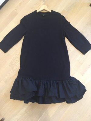 COS Sukienka z falbanami ciemnoniebieski