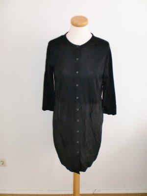 Cos Kleid Bluse Tunika schwarz Seide Baumwolle