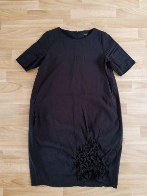 COS Robe ballon noir coton