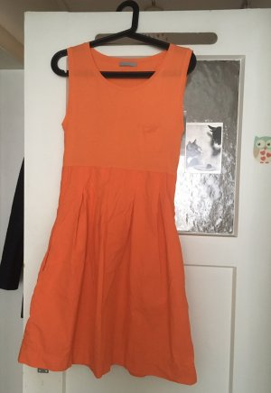 COS Babydoll Dress neon orange