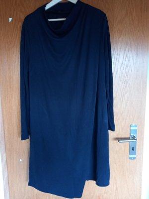 COS Robe en jersey noir viscose