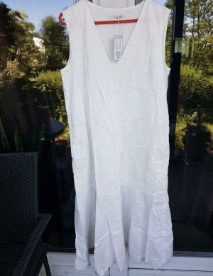 COS Robe chemise blanc coton