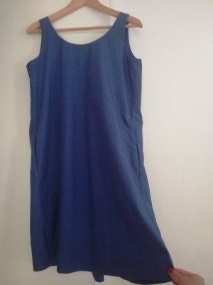 COS Robe de plage bleu tissu mixte