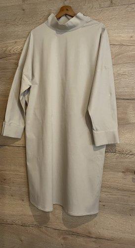 COS Kleid mit Stehkragen beige