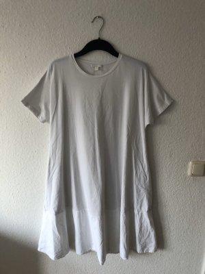 COS Robe t-shirt blanc