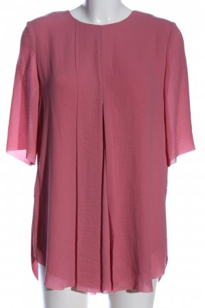 COS Kurzarm-Bluse pink Casual-Look