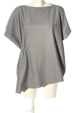 COS Bluzka z krótkim rękawem jasnoszary Melanżowy W stylu casual