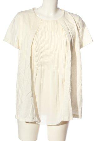 COS Camicetta a maniche corte bianco sporco stile casual