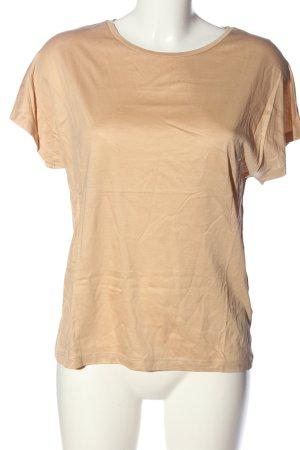 COS Kurzarm-Bluse creme Casual-Look
