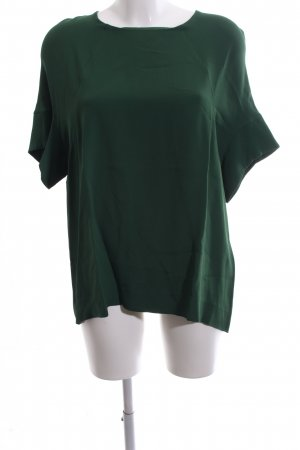 COS Kurzarm-Bluse grün Business-Look