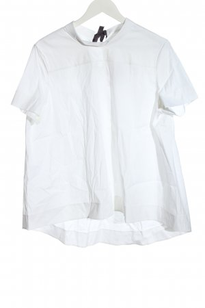 COS Short Sleeved Blouse white casual look