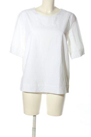COS Blouse à manches courtes blanc style décontracté
