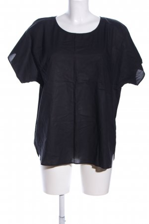 COS Kurzarm-Bluse braun Casual-Look