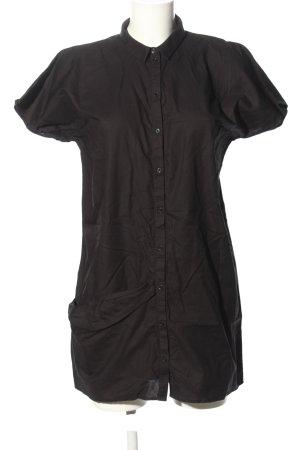 COS Bluzka z krótkim rękawem czarny W stylu casual
