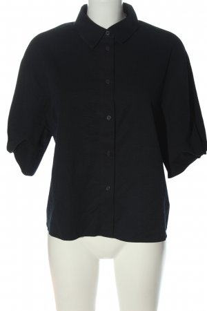 COS Short Sleeve Shirt black business style