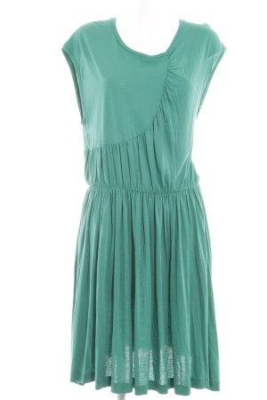 COS Robe à manches courtes turquoise style décontracté