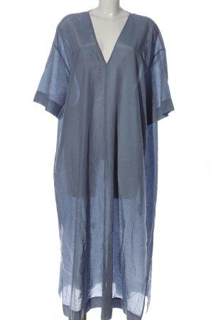 COS Kurzarmkleid blau Elegant
