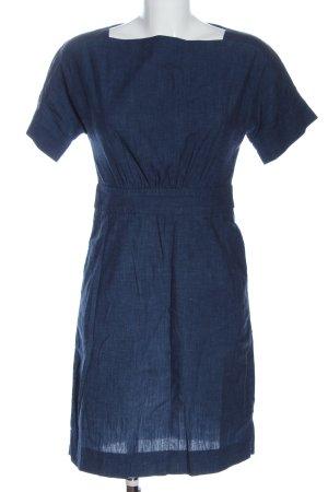 COS Vestido de manga corta azul look casual