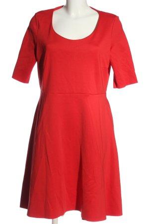 COS Kurzarmkleid rot Elegant