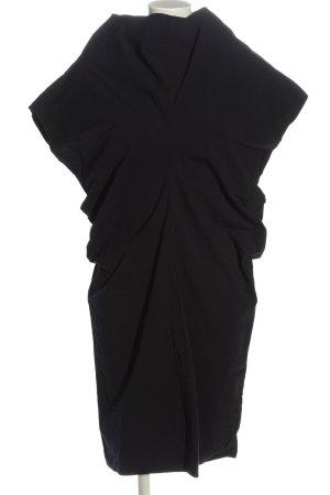 COS Kurzarmkleid schwarz Elegant
