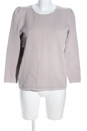 COS Short Sleeve Sweater light grey casual look
