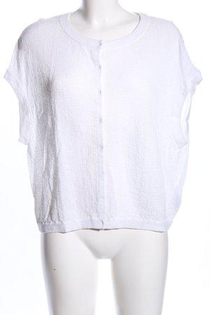 COS Cardigan à manches courtes blanc style décontracté