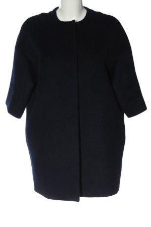 COS Krótki płaszcz czarny Melanżowy W stylu casual