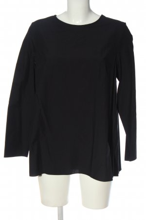COS Long Sleeve Blouse blue casual look