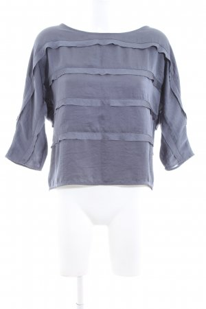 COS Langarm-Bluse hellgrau Casual-Look