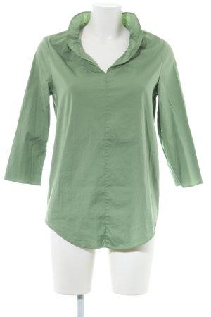 COS Langarm-Bluse grün Casual-Look