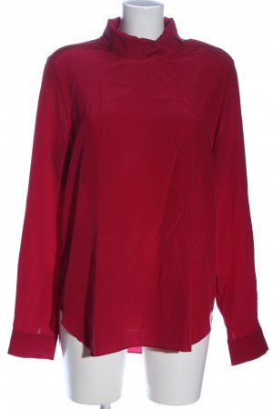 COS Langarm-Bluse rot Casual-Look