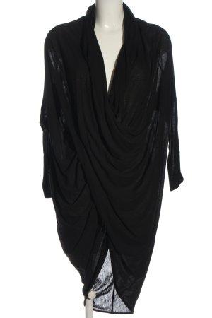 COS Bluzka z długim rękawem czarny W stylu casual