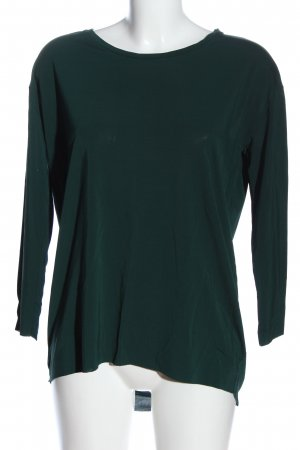 COS Langarm-Bluse grün Business-Look
