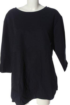 COS Long Sleeve Blouse black casual look