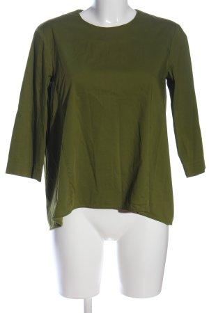 COS Langarm-Bluse khaki Casual-Look