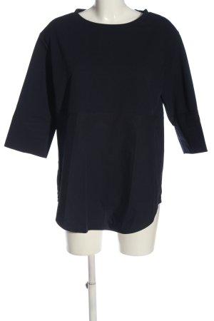 COS Langarm-Bluse schwarz Casual-Look