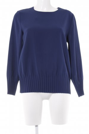 COS Langarm-Bluse blau Casual-Look