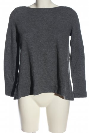 COS Knitted Sweater light grey casual look