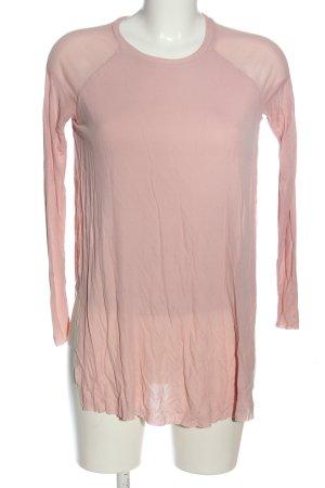 COS Camicetta a maniche lunghe rosa stile casual