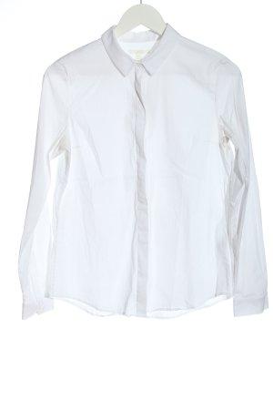 COS Chemise à manches longues blanc style d'affaires