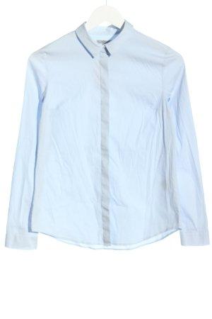 COS Long Sleeve Shirt blue casual look