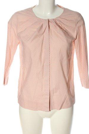 COS Chemise à manches longues rose chair-blanc imprimé allover