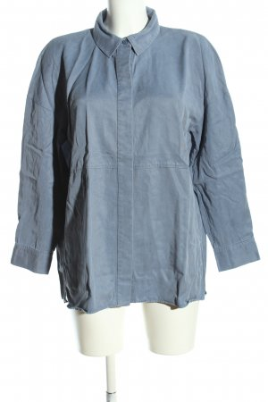 COS Langarmhemd blau Casual-Look