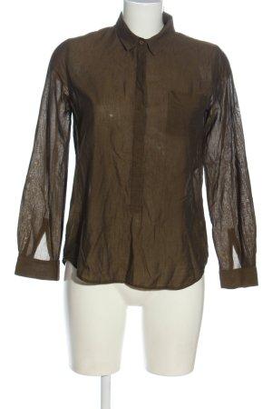 COS Langarmhemd braun Elegant