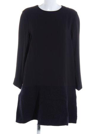 COS Robe à manches longues noir élégant