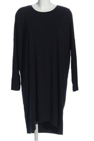 COS Robe à manches longues noir style décontracté