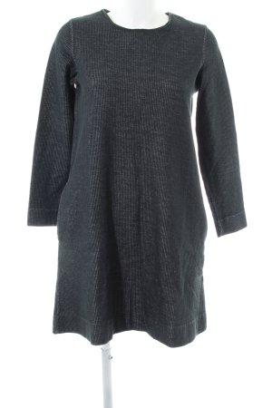 COS Robe à manches longues gris clair moucheté style décontracté