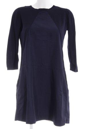 COS Robe à manches longues bleu foncé style d'affaires