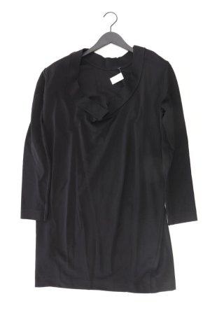 COS Robe à manches longues noir viscose