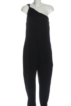 COS Langer Jumpsuit noir style décontracté